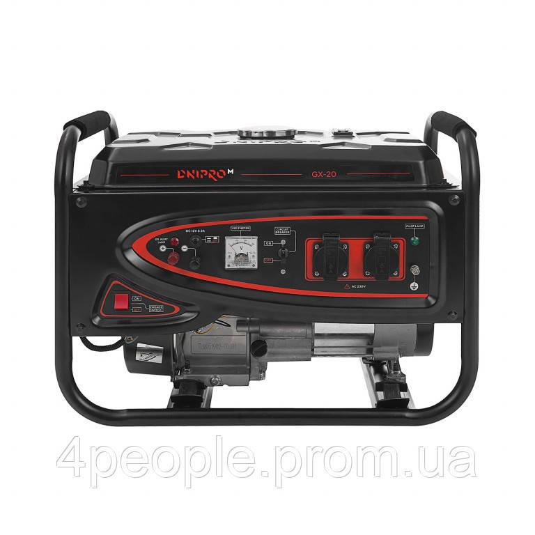Генератор бензиновый Dnipro-M GX-20 СКИДКА ДО 10% ЗВОНИТЕ