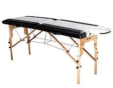 Массажный стол-кушетка из натурального дерева 60см