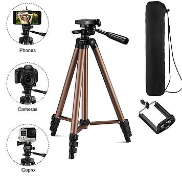 Штатив для фотоаппарата, камеры и смартфона