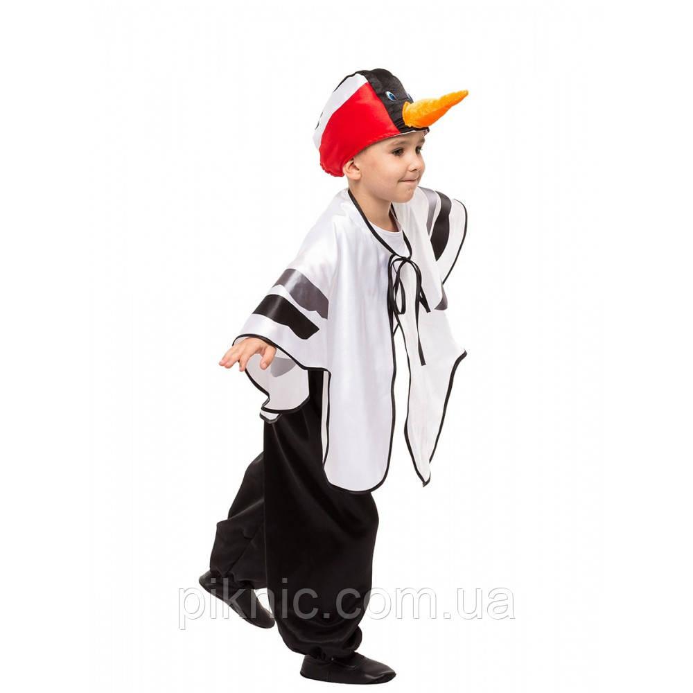 Детский костюм Журавель Аист Цапля 5,6,7,8 лет. Новогодний карнавальный костюм птицы