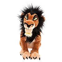 """Оригинальная детская мягкая игрушка Лев Шрам """"Король лев"""" 35 см Дисней/Disney Scar The Lion King 412310915682"""