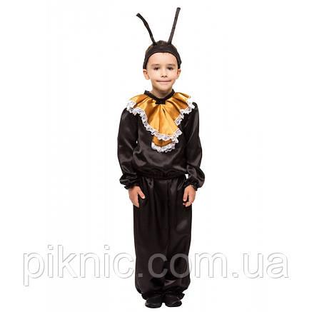Костюм Муравей 4,5,6,7,8 лет. Новогодний карнавальный костюм насекомые, фото 2