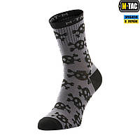 Носки Легкие M-Tac Mk.3 Pirate Skull Dark Grey, фото 1