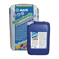 Двухкомпонентная эластична цементная мембрана Mapei Mapelastic Foundation A/B 32 кг