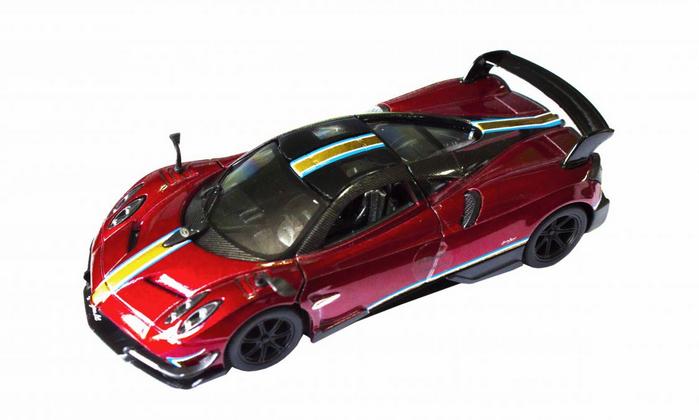Инерционная металлическая детская машина Спорткар.Машинка KINSMART.