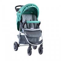 Детская прогулочная коляска Lorelli Daisy (green/grey)