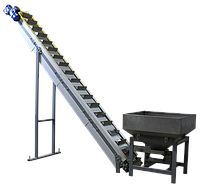 Ковшовий транспортер - конвеєр (елеватор)