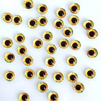 Глаза 6 мм (1-6-011). 1 шт.