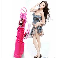 Женский вибратор кролик на батарейках (36 режимов)