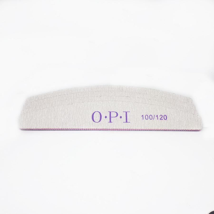 Пилка для ногтей OPI полукруг 100/120