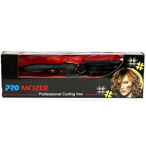 Потрійна плойка щипці для волосся   3 варіанти укладання: хвилі, легкі кучері, щільні кучері PRO MOZER MZ-6621, фото 2