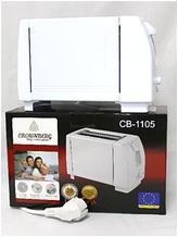 Toaster CB 1105 Crownberg, Тостер бытовой, Тостер с поддоном для крошек, Домашний тостер, Тостер для поджарки