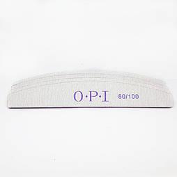 Пилка для нігтів OPI півколо 80/100
