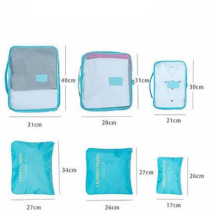 Набор дорожных органайзеров Secret Pouch (голубой) PR2, фото 2