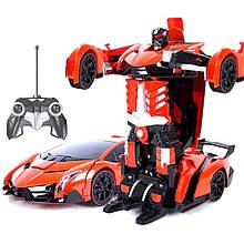 Трансформер машинка на радіоуправлінні Lamborghini Car Robot CG01 PR3