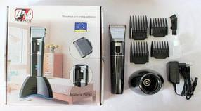 Машинка - триммер для стрижки волос PROMOTEC PM-362 с насадками CG21 PR4, фото 3