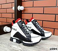Зимние кожаные кроссовки 36 р, фото 1