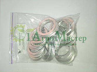 Шайба алюминиевая уплотнительная 30х38х1,5 Упаковка 50 шт.