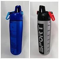 Спортивная бутылка для воды 750 мл  « Спорт» в ассортименте., фото 1
