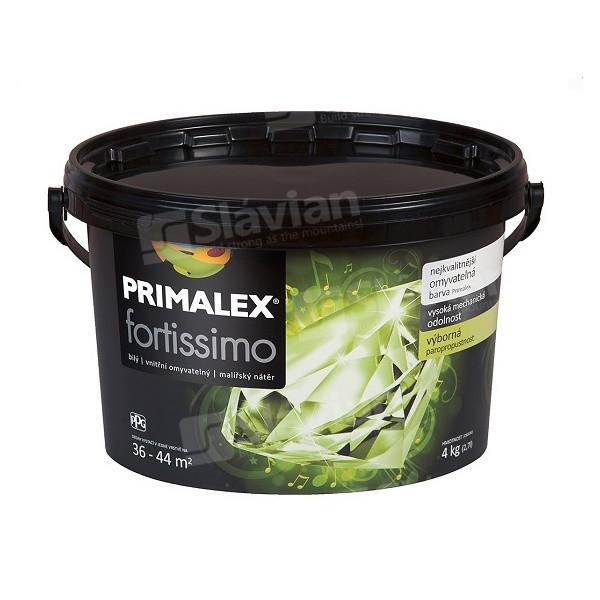 Краска интерьерная Primalex FORTISSIMO White 4.0кг, фото 1