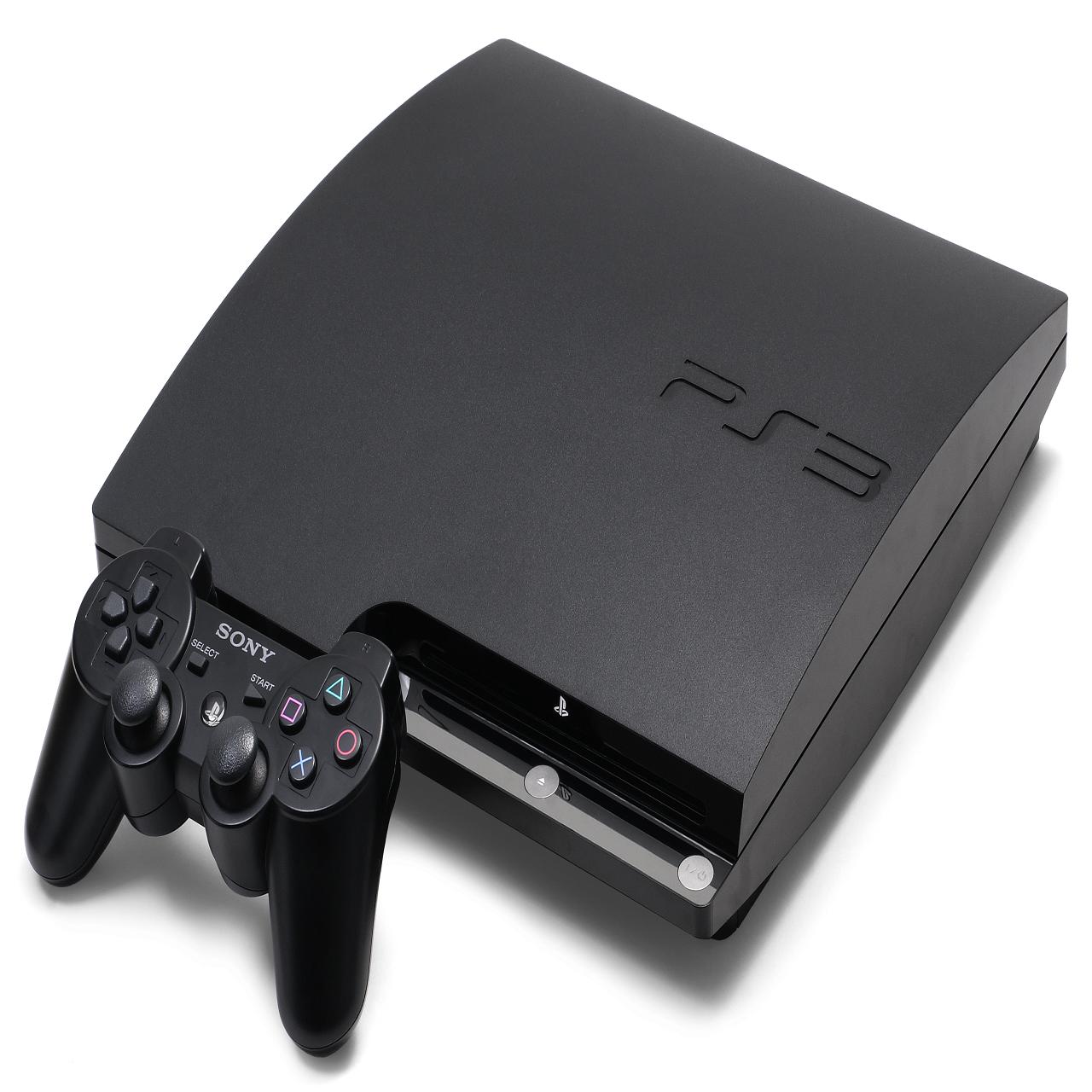 Ігрова приставка Sony PlayStation 3 Slim 250 GB 5 ігор встановлених (Б/В)