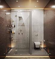 Дверь для душа Tucana (закаленное стекло), фото 1