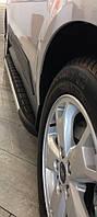Mazda BT-50 2007-2012 гг. Боковые площадки Duru (2 шт., алюминий)