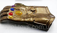 Перчатка Таноса с подсветкой Мстители Война Бесконечности