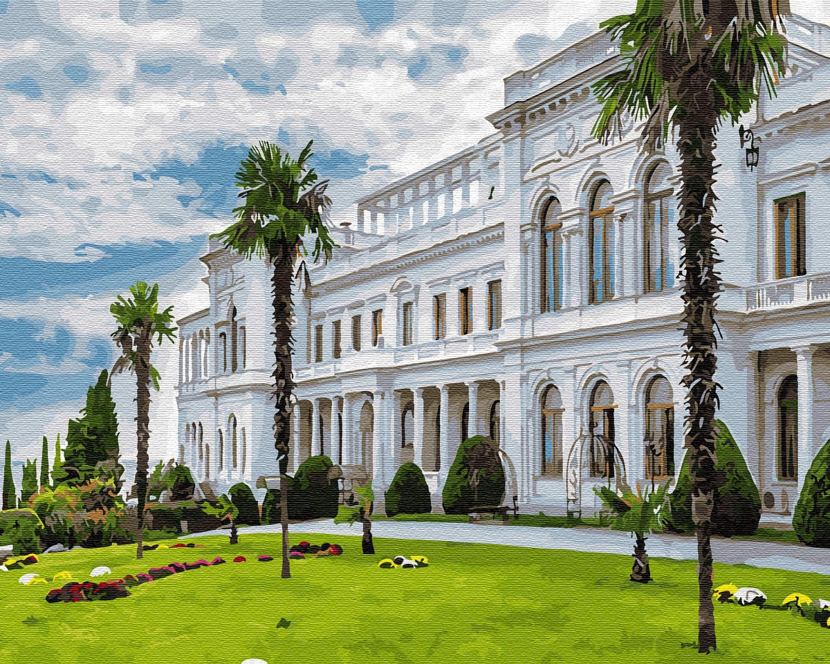 Рисование по номерам Бахчисарайский палац GX30161 Brushme 40 х 50 см (без коробки)