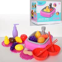 Игровой набор кухня для кукол раковина QC-1B
