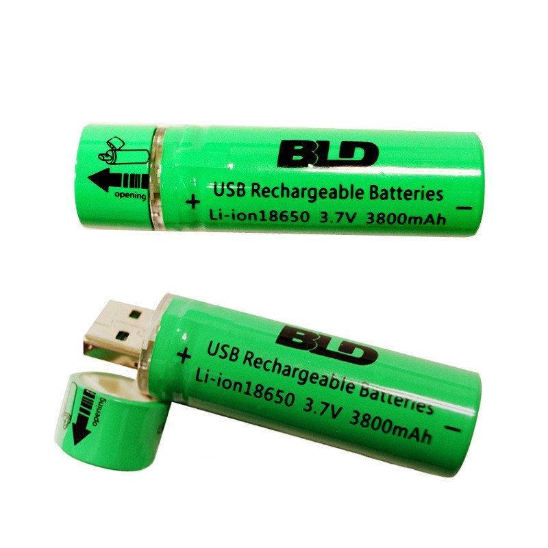 Батарейка аккумулятор BATTERY Bailong 18650 c USB зарядкой