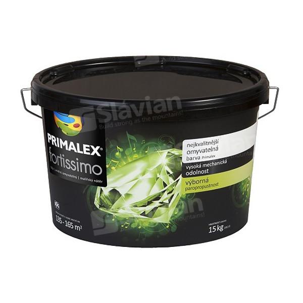 Краска интерьерная Primalex FORTISSIMO White 15.0 кг