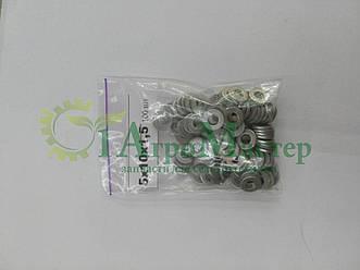 Шайба алюминиевая уплотнительная 5х10х1,5 Упаковка 100 шт.
