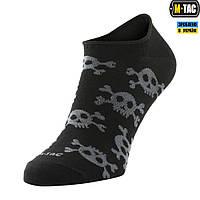 Носки Летние Легкие M-Tac Pirate Skull Black, фото 1