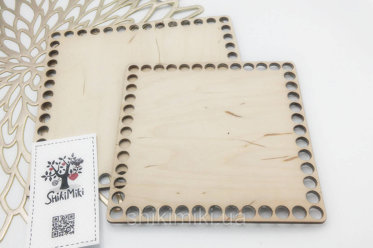 Заготовка из фанеры квадратная (15*15 см)