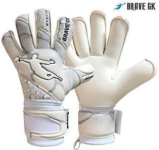 Детские вратарские перчатки BRAVE GK PHANTOM KIDS WHITE, P.5
