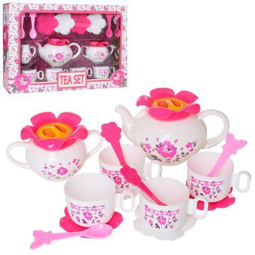 Чайный сервиз на 4 персоны LN595A-B игровой набор для девочек