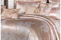 Евро комплект постельного белья сатин жаккард в классическом стиле Tiare™