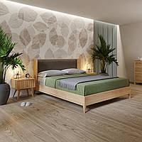 Деревянная кровать дубовая WINGS 1600*2000