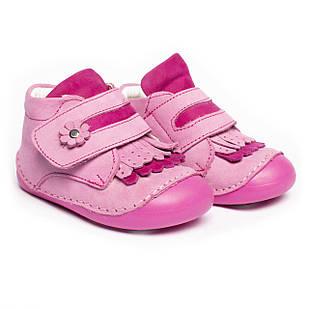 Кожаные ботиночки-пинетки для девочки, размеры 19, 20, 21
