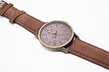 Наручные часы джинсовые 2Life Коричневый (n-446), фото 2
