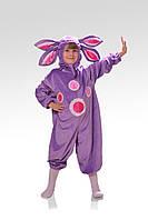 Детский карнавальный костюм для мальчика Лунтик «Кроха» 110-120 см, фиолетовый