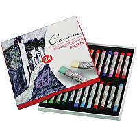 Набор художественной сухой пастели Сонет 24 цвета