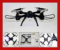 Квадрокоптер D11, WiFi камера, яркая LED подсветка, переворот  360°