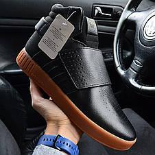 Кроссовки мужские Adidas Tubular Invader синие (Top replic), фото 2
