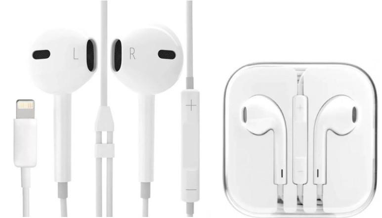 Наушники гарнитура для iPhone 7 8 10 X Xs 11 / 7 8 Plus / Xs Max / 11 Pro Lightning для прослушивание музыки