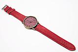 Наручные часы джинсовые 2Life Красный (n-447), фото 3