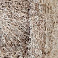 Буклированная пряжа Drops Alpaca Boucle, цвет Light Beige Mix (2020)