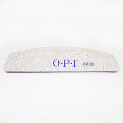 Пилка для нігтів OPI півколо 80/80