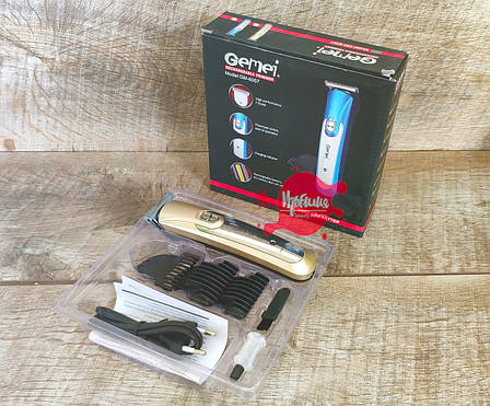 Профессиональная машинка для стрижки  волос,волшебный нож из нержавеющей стали Gemei GМ- 6057 CG21 PR1, фото 2